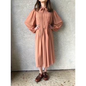 60's VINTAGE | Neiman Marcus midi/maxi dress